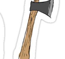 Lumberjack Things Sticker