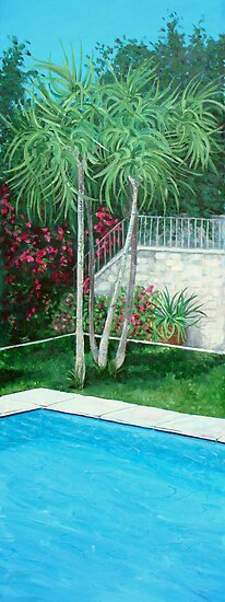 Swimming Pool by Carole Russell