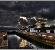 Loch Eil. Fort William, Scotland. by baddoggy