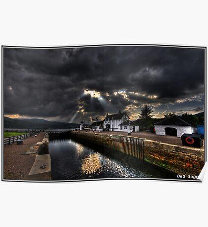 Loch Eil. Fort William, Scotland. Poster