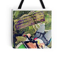 Travel Makes One Modest Travel Quote Collection Tote Bag