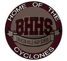 Beacon Hills Cyclones Photographic Print
