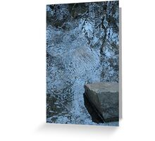 River of reflection Greeting Card