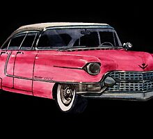 Pink Cadillac by OnaVonVerdoux