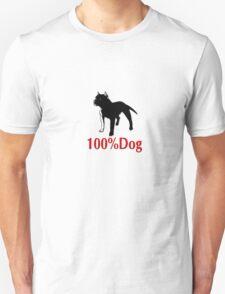 100% Dog T-Shirt