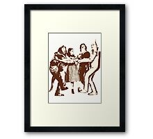 Wizard of Oz - Characters Framed Print