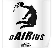 Darius get dunked Poster