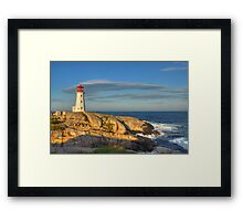 Peggy's Cove Lighthouse - Nova Scotia, Canada Framed Print