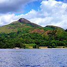 Conic Hill from the Loch by Susan Dailey