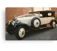 1930's Rolls Royce Convertible Canvas Print