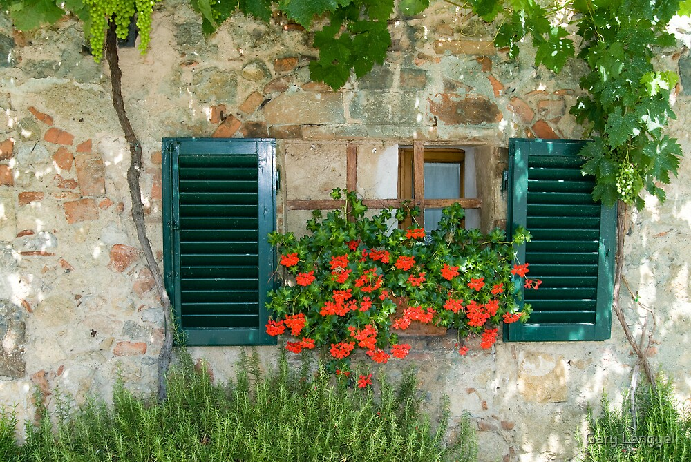 Tuscan Window by Gary Lengyel