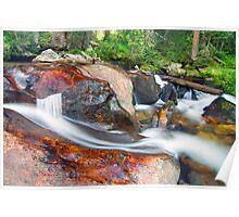 Granite Falls, Rocky Mountain National Park Poster
