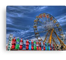 Wheel and Beverages Canvas Print