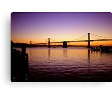 San Franisco  •  Oakland Bay Bridge Canvas Print