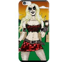 Horror Punk Zombie Girl iPhone Case/Skin