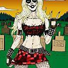 Horror Punk Zombie Girl by Luke Kegley