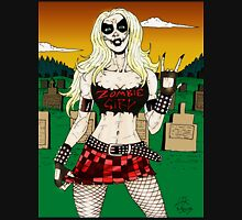 Horror Punk Zombie Girl Unisex T-Shirt
