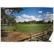 Urban Greens  •  Contra Costa Country Club Poster