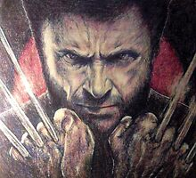 The wolverine by Antonio Méndez Díaz
