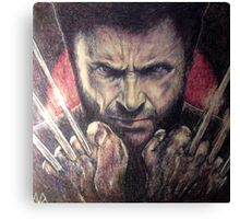 The wolverine Canvas Print