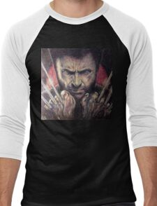 The wolverine Men's Baseball ¾ T-Shirt
