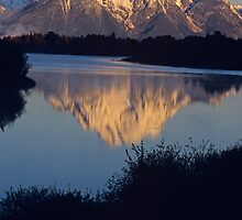 Mt. Moran at Dawn, Grand Teton National Park by Gary Lengyel