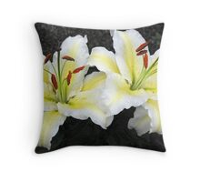 Fresh and Beautiful Throw Pillow