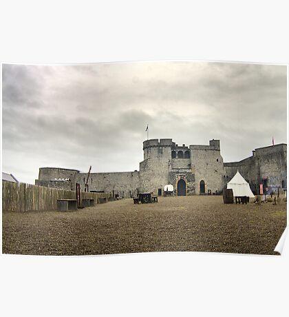 King John's Castle Poster