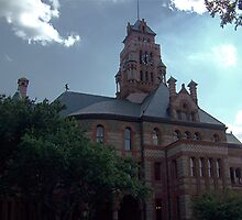 Ellis County Courthouse by Glenna Walker