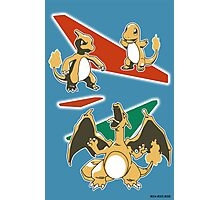 Charizard Line Photographic Print
