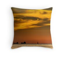 Tornado Sky Throw Pillow