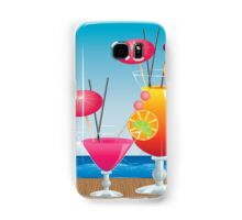 Cocktail on the beach 3 Samsung Galaxy Case/Skin