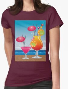 Cocktail on the beach 3 T-Shirt