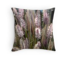 Fox Tails Throw Pillow