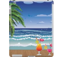 Cocktail on the beach 5 iPad Case/Skin
