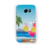 Cocktail on the beach 6 Samsung Galaxy Case/Skin