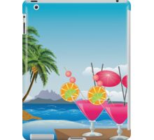 Cocktail on the beach 6 iPad Case/Skin