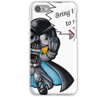 Bubble Vader iPhone Case/Skin