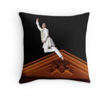 Artiste and architecture Throw Pillow