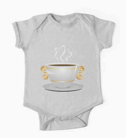 Cup of coffee 3 One Piece - Short Sleeve