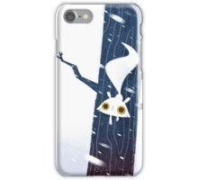 White Squirrel iPhone Case/Skin