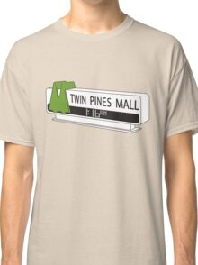 BACK TO THE FUTURE, TWIN PINES MALL Classic T-Shirt