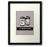 Sleaford Mods Beer Framed Print