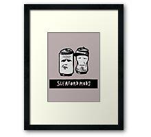 Sleaford Mods Beer Framed Print