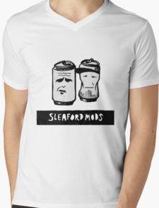 Sleaford Mods Beer Mens V-Neck T-Shirt