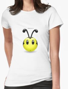 No Idea Bee Womens Fitted T-Shirt