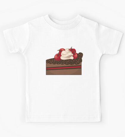 Chocolate cake slice Kids Tee