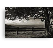 Over the Tablelands Canvas Print