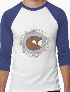 Dreaming Fox Men's Baseball ¾ T-Shirt