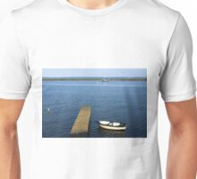 Little Boat By The Dock Unisex T-Shirt